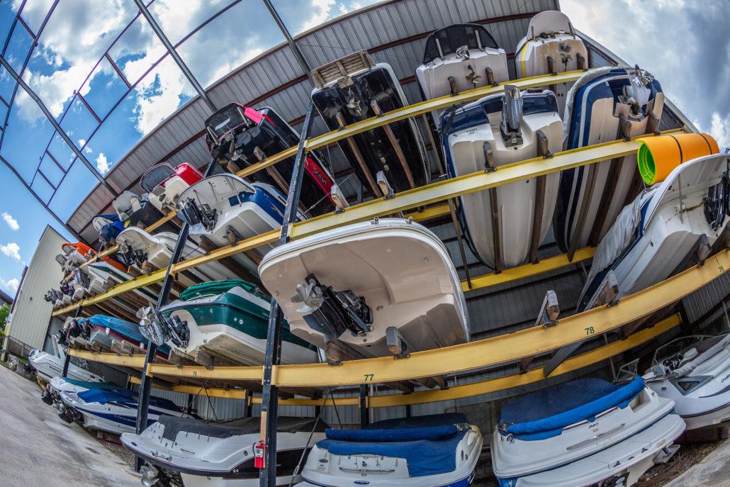 Dry Stack Boat Storage Riviera Marina