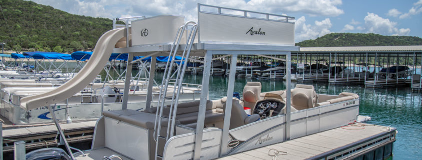 "27' Double Decker Pontoon ""Fun Ship"" – Riviera Marina"