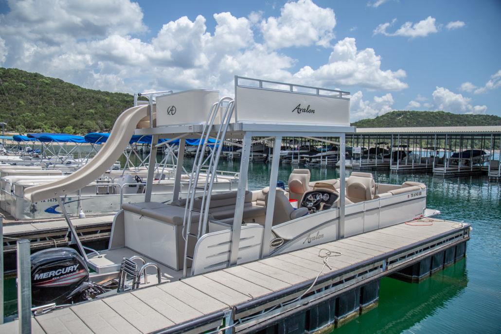 27 Double Decker Pontoon Fun Ship Riviera Marina